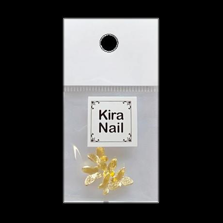 KiraNail バタフライ タイニー  ゴールド/シルバー