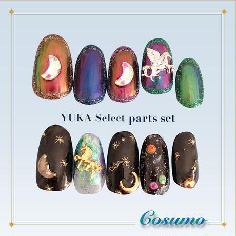 9月15日発売☆KiraNail YUKAセレクトパーツセット COSMO