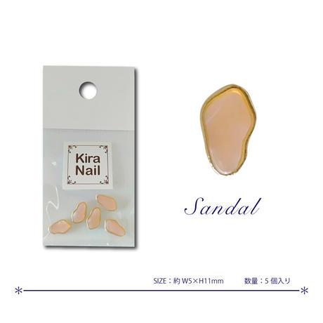 11月1日発売☆KiraNail ブルーネ サンダル