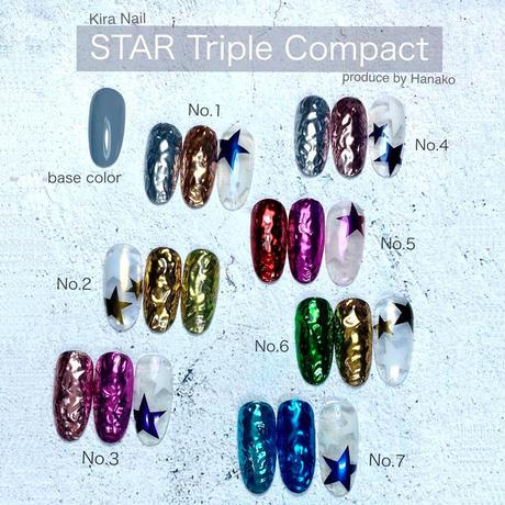 KiraNail Star Triple Compact (チップ付き)