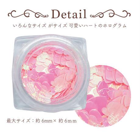 KiraNail ハートホログラム-ピンクオーロラ