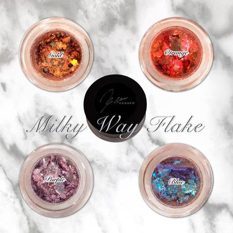 6月15日発売☆KiraNail Hanakoプロデュース Milky Way Flak  4COLOR