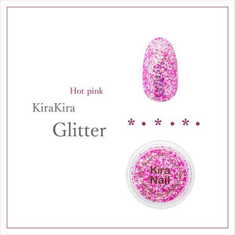 8月20日発売☆KiraNail キラキララメ ホットピンク