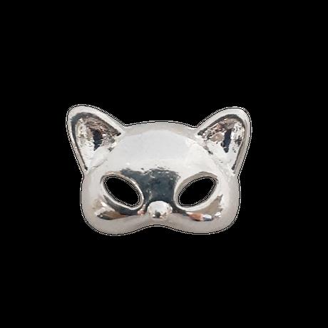 6月1日発売☆KiraNail キャットマスクパーツ シルバー ♪新色♪