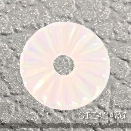 KiraNail GIZAMARUオーロラホワイト4mm