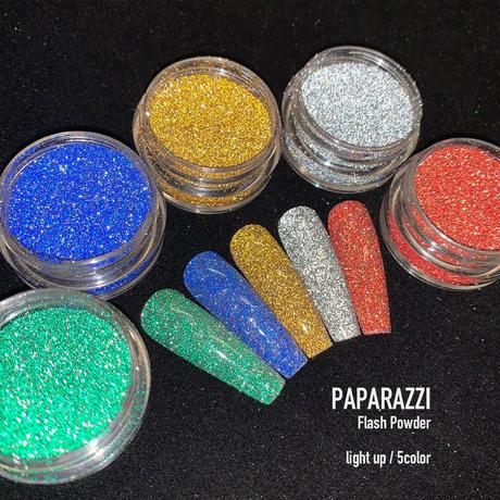 KiraNail PAPARAZZI Flash Powder