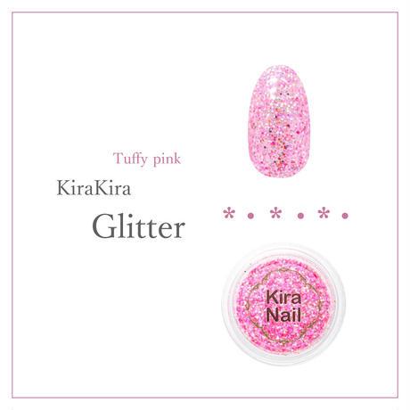 8月20日発売☆KiraNail キラキララメ タフィーピンク