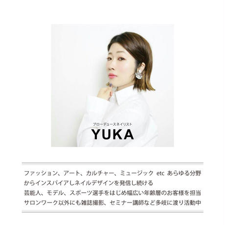 3月1日発売☆KiraNail Kirally NailSticker YUKAプロデュース 押し花 ピンク/ブルー