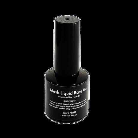 3点セット-KiraNail MESH LIQUID & KiraNail MESH LIQUID BASE GEL+携帯エアブラシKirush ブラック