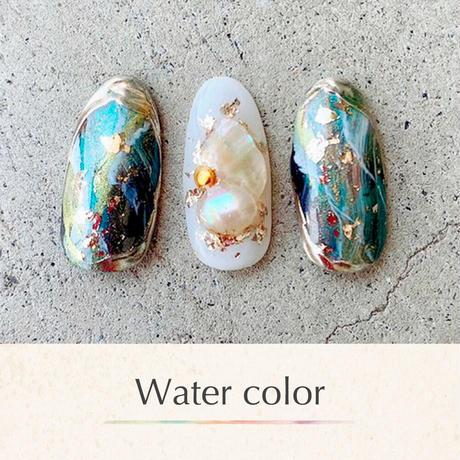 6月15日発売☆KiraNail 水彩パレットアソート 18色