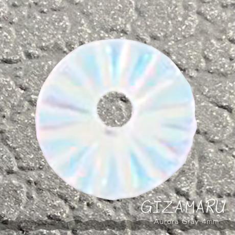 KiraNail GIZAMARUオーロラグレー4mm