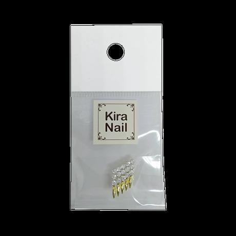 2月15日発売☆KiraNail ルピエ クリスタル ゴールド/シルバー