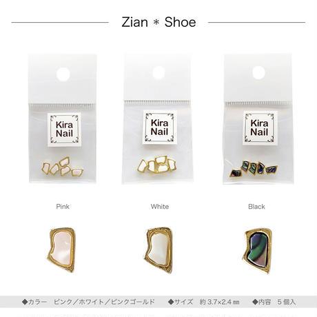 4月15日発売☆KiraNail ザイアン シュー  ピンク /ホワイト/ブラック