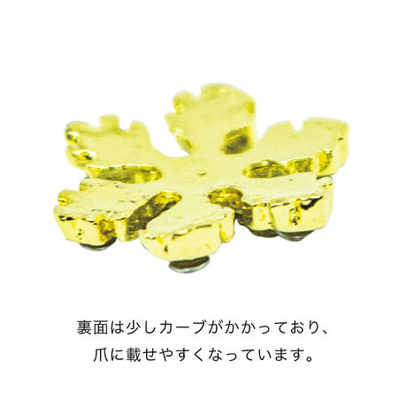 12月25日発売☆KiraNail 雪の結晶 サララ ゴールド/シルバー