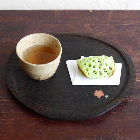 干菓子盆 白梅