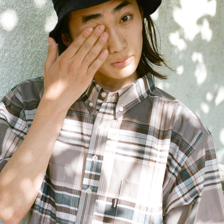 Plaid S/S Pullover Shirt