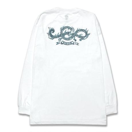Draco L/S Tee <White>