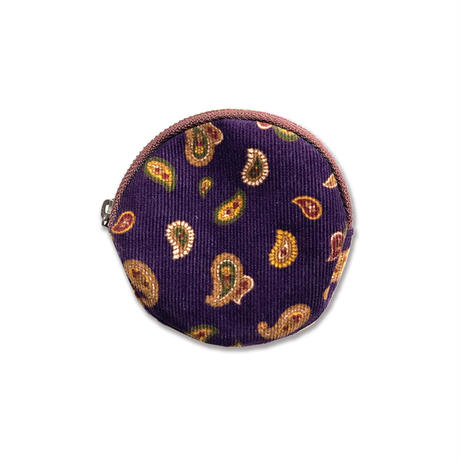 Skate Bell Hat + Coin Case Set <Purlpe Paisley>
