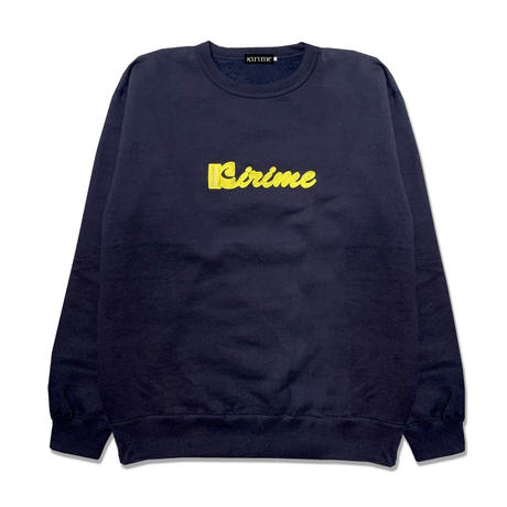 Coffee Logo Swearshirt  <Navy>