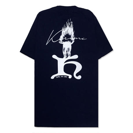 That's Too Late S/S Tee (Fire Ver.)  <Navy>