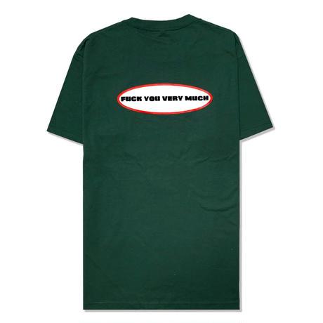 Oval  Logo  S/S  Tee  <F.Green>