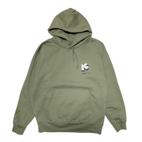 Brick Logo Hoodie  <Khaki>