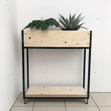 アイアン 植物棚 シェルフ