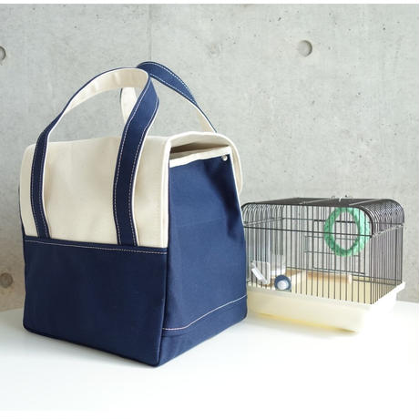 MigratoryBag 【S】Natural×Navy