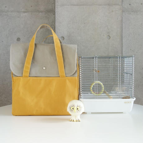 MigratoryBag 【MH】SandBeige×YellowOcher