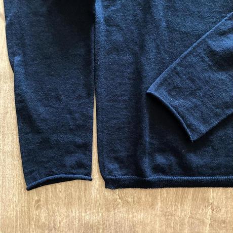 V002K046 (90) evameva (エバムエバ) cotton cashmere pullover