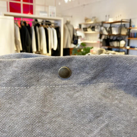 TAMPICO (タンピコ) SHOULDER BAG cotton stone wash col.SILEX