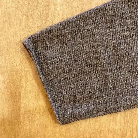 E213K079 (40) evam eva (エバムエバ) wool tunic