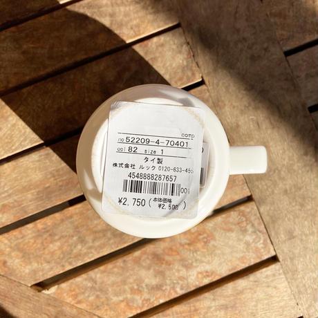 marimekko マグカップ Unikko (ウニッコ) col.82 WH×BE