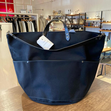 TAMPICO (タンピコ) BIVOUAC L bag cotton canvas col.BK
