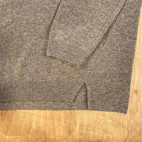 E213K078 (40) evam eva (エバムエバ) wool pullover