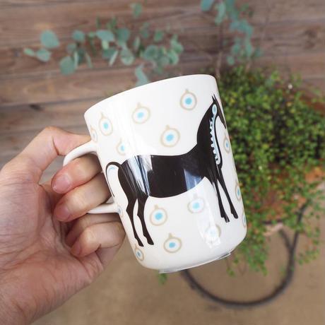 52219-4-71098 (90) marimekko Musta Tamma マグカップ