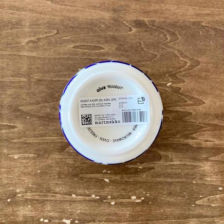 marimekko Ruudut コーヒーカップセット