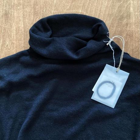 V002K047 (90) evameva (エバムエバ) cotton cashmere turtleneck
