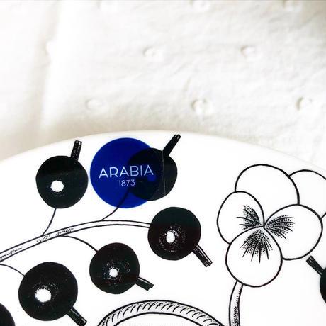 ARABIA Paratiisi (パラティッシ) コーヒーカップ&ソーサー col.BK