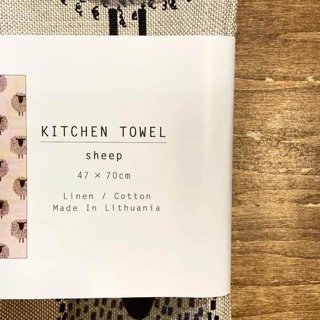 0118-001 キッチンタオル  SHEEP