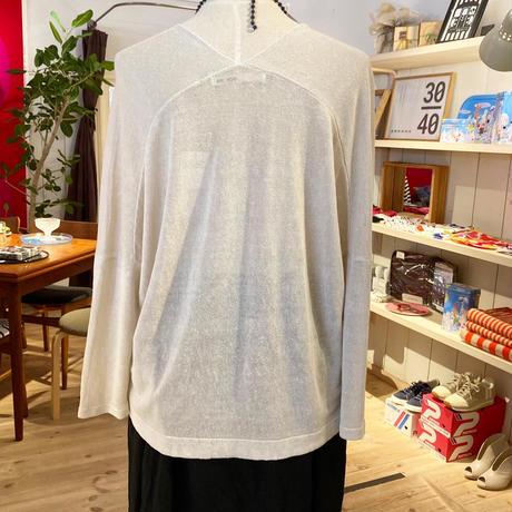 evameva (エバムエバ) linen cupro pullover