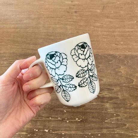 【日本限定】marimekko  Vihkiruusu マグカップ