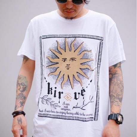 太陽スローガンT-shirt