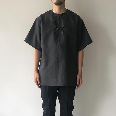 POSTELEGANT / Linen Pull-Over Pocket Top