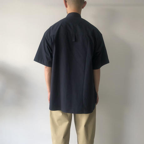 STUDIO NICHOLSON / SORONO - OVERSIZED SHORT SLEEVE SHIRT