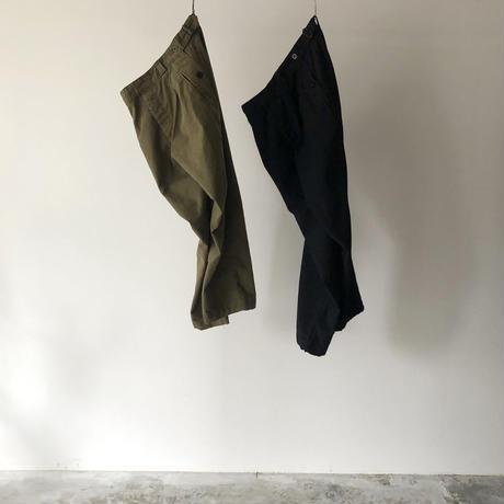 OUTIL / PANTALON LIMOGES・BLACK