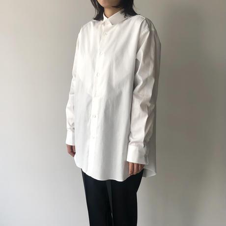 POSTELEGANT / Cotton Pique Dress Shirt