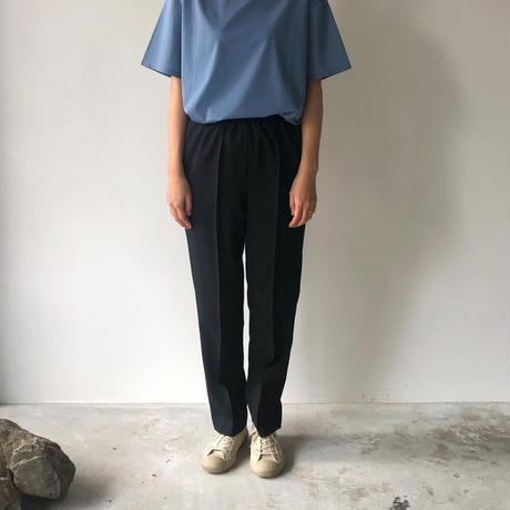 POSTELEGANT / Wool Easy Trousers (Black)