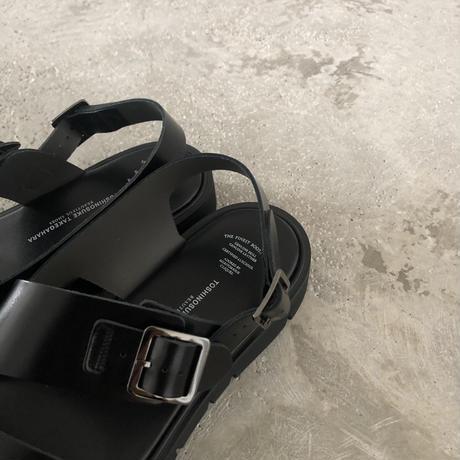 BEAUTIFUL SHOES / S.S.BELT SANDALS (Black)
