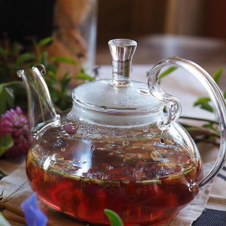Aromanne(アロマンヌ)香茶 ハイビスカス&オレンジ No.47(フランスからの発送料込)